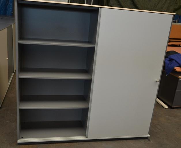 bene raumteiler aktenschrank highboard b roschrank 4 oh beidseitig zu ffnen ebay. Black Bedroom Furniture Sets. Home Design Ideas