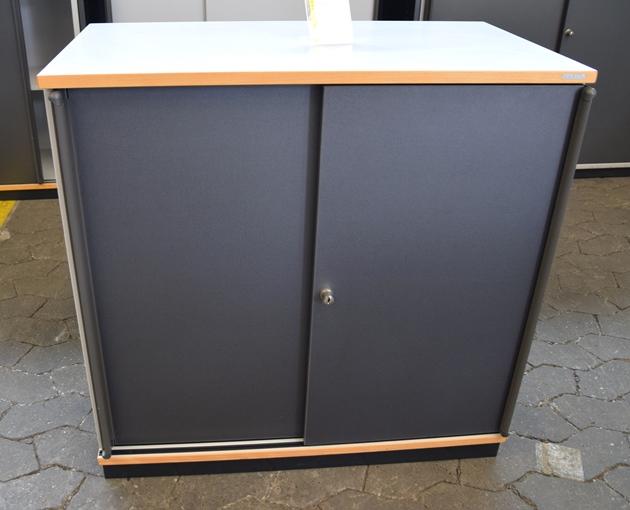 vario sideboard b roschrank aktenschrank 2 oh b 80 cm mehrfach auf lager ebay. Black Bedroom Furniture Sets. Home Design Ideas